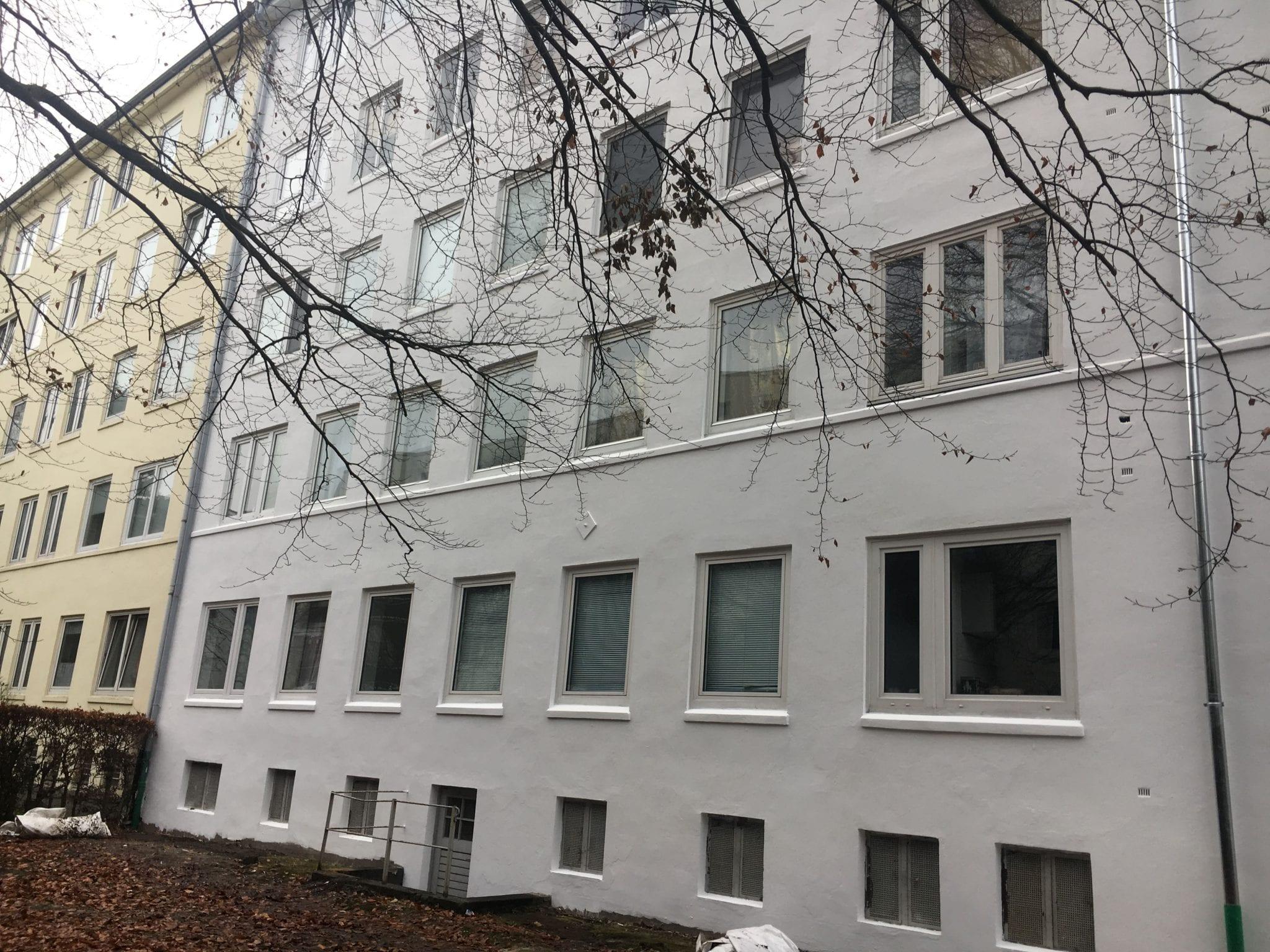 Fassadenarbeiten in Hamburg