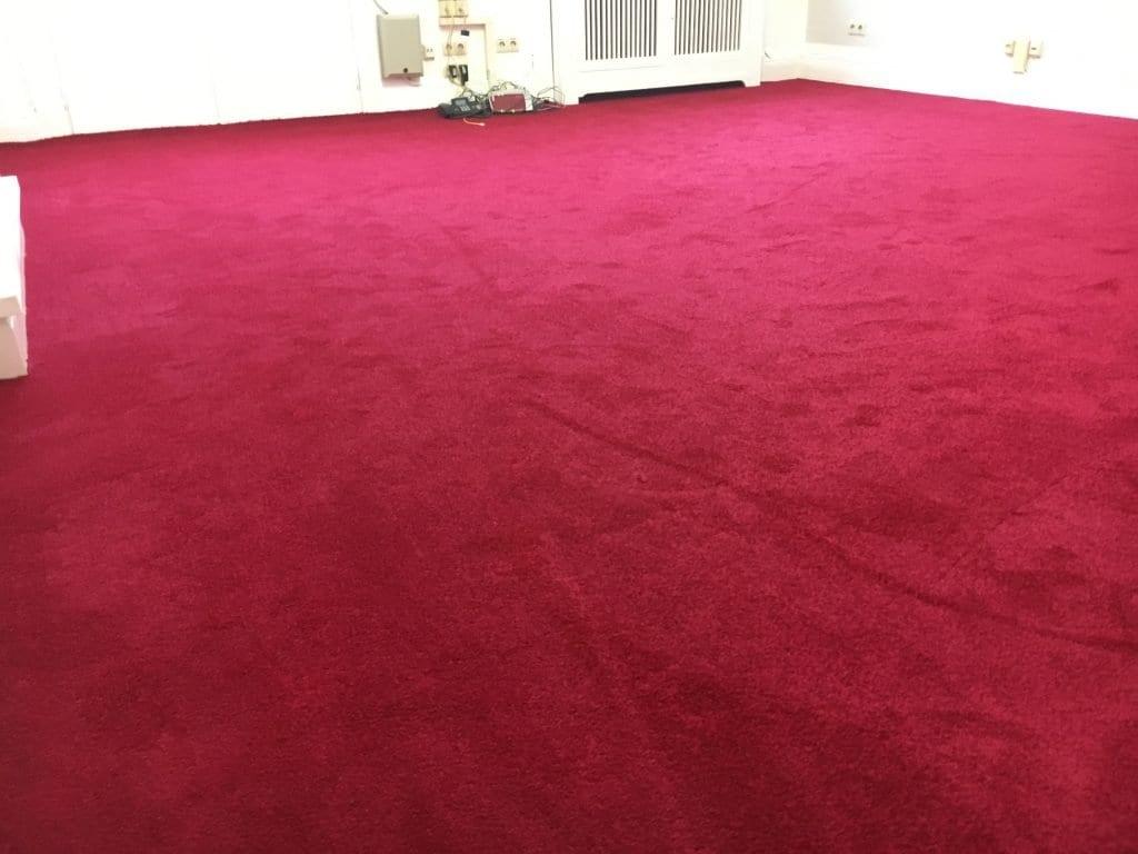 Teppich Verlegung - Bodenleger
