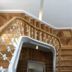 Treppenstufen schleifen und Ölen